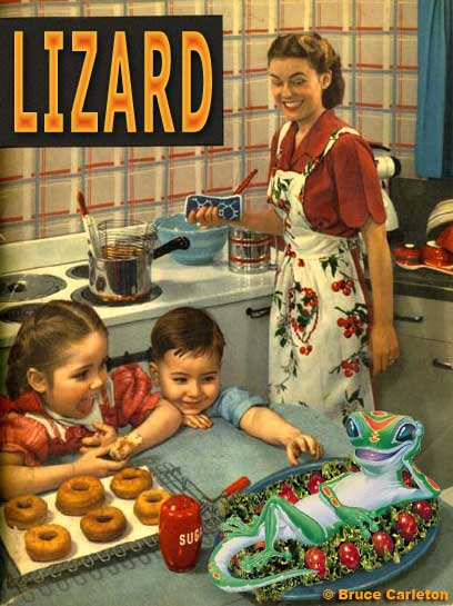 Who wants donuts when we can have lizard?