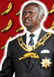 The Right Honourable Canaan Banana